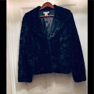 NWOT White House/ Black Market Faux Fur Jacket